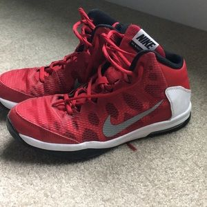 Nike youth high top sneakers